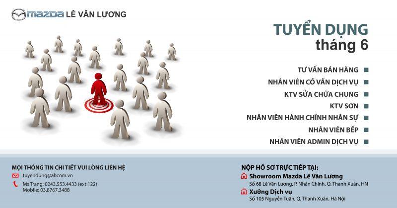 Mazda Lê Văn Lương tuyển dụng