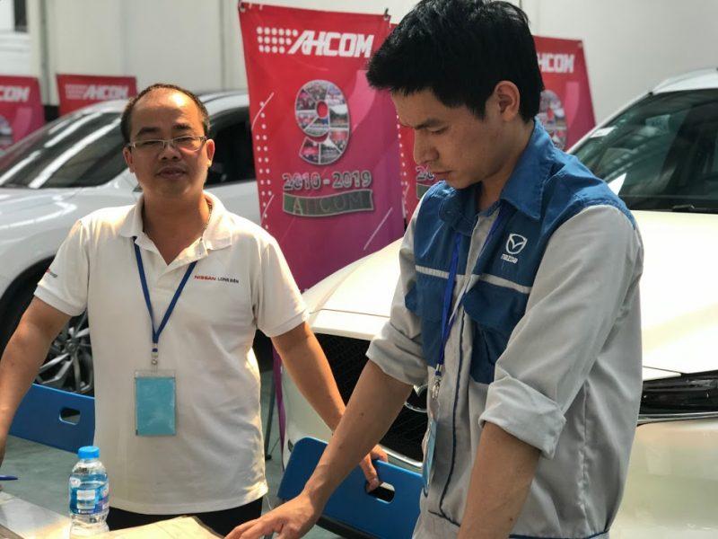 Ban giám khảo hội thi ahcom top 1