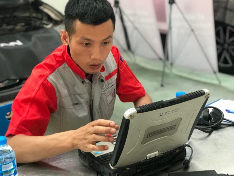 Vòng thi thực hành CVDV và KTV ahcom top 1
