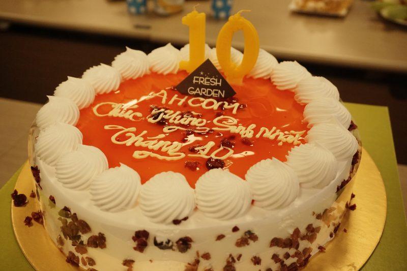 Chúc mừng sinh nhật tháng 10 AHCOM