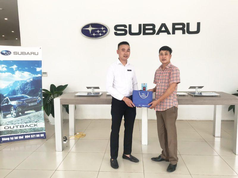 trial drive event Subaru Hanoi 12