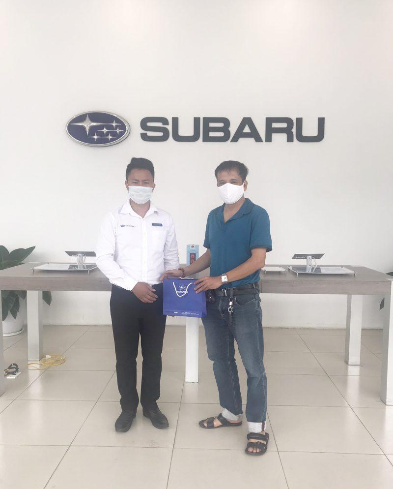 trial drive event Subaru Hanoi 11