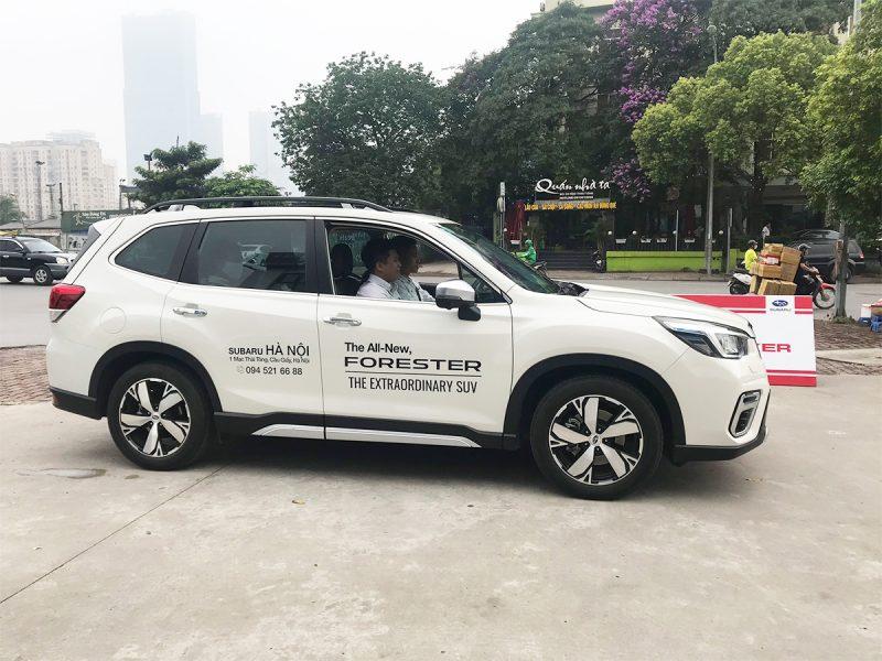 trial drive event Subaru Hanoi 3