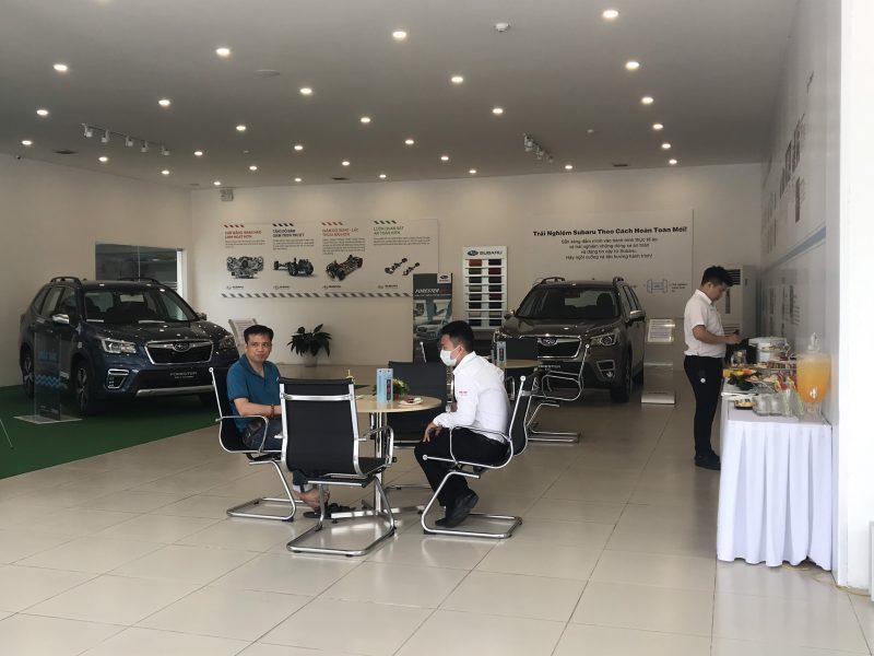 trial drive event Subaru Hanoi 4