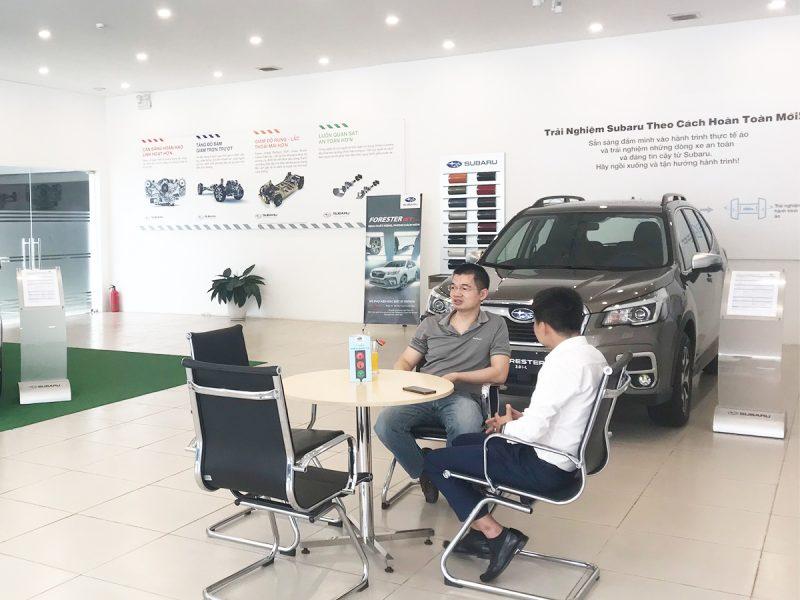 trial drive event Subaru Hanoi 7