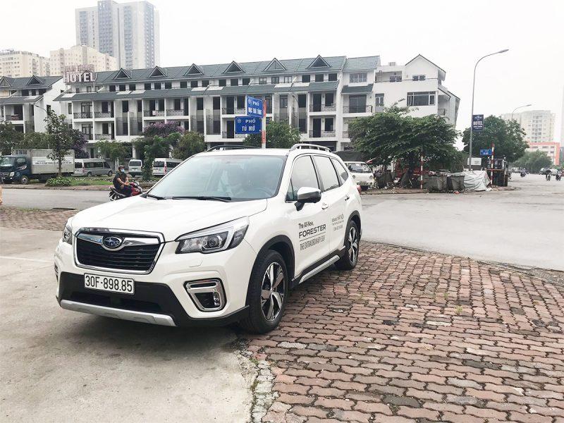 trial drive event Subaru Hanoi 8